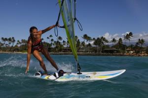 Виндсерфинг на на Гавайях
