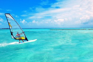 Виндсерфинг на Мальдивах