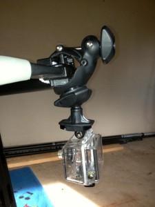 Крепление FlyMount GoPro для виндсерфинга
